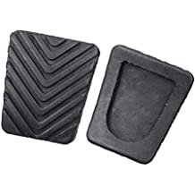 IrahdBowen Bloc de Pedal de Freno de Goma para Hyundai Accent Car Accessories 2 Piezas,