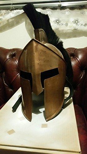 ANTIQUENAUTICAS 300 Film Spartanischer König-Leonidas + Mittelalterlicher Römischer Helm Griechische Zwischenlagen-Replik. 1 -