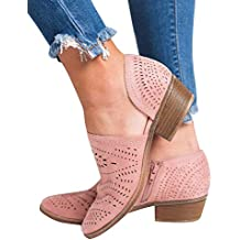 Rosa it Donna Cowboy Stivali Amazon g4wqg