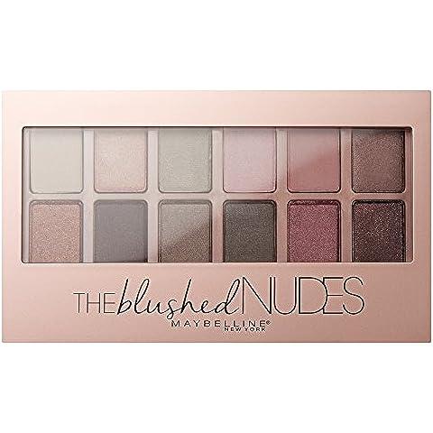 Maybelline Paleta de Sombras de Ojos Shadow Palette 01 Blushed Nudes