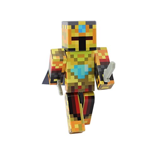EnderToys Gold Knight Action Figure Toy, 10cm Custom Series Figurines, …