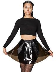 American Apparel Clear PVC Circle Skirt