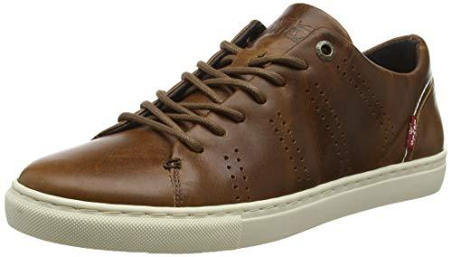 Levi's Vernon, Baskets Hommes, Marron (Medium Brown 27), 46 EU