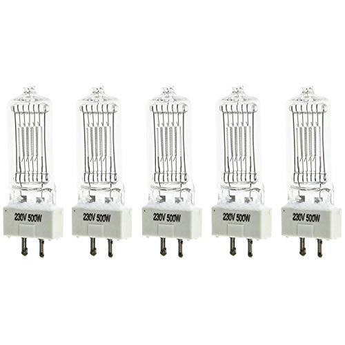 5 × 500W Glühlampe für Fresnel Tungsten Video Dauerlicht ALS ARRI Pro Video GY9.5 Arri Studio