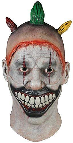 Twisty Dem Kostüm Clown Halloween - Fancy Me Erwachsene Deluxe American Horror Story Twisty der Clown Freak Show Halloween Karneval Cosplay Konvention Professionell Theater Qualität Kostüm Kleid Outfit Maske