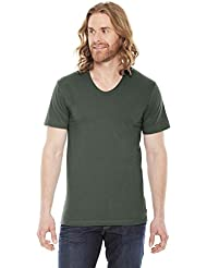 American Apparel Sheer Jersey Loose Crew Summer T-Shirt