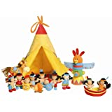 Lilliputiens the Wigwam and the Ten Indians