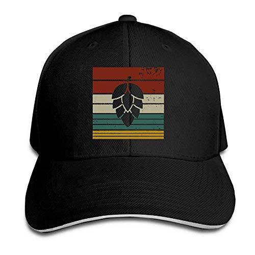 Women's/Men's Paw Print Heartbeat Adult Adjustable Snapback Hats Baseball Cap