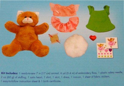 Kitty Soft Kostüm - Build A Bear Workshop gestromt Kitty Ballerina 17,8cm machen und Spielen