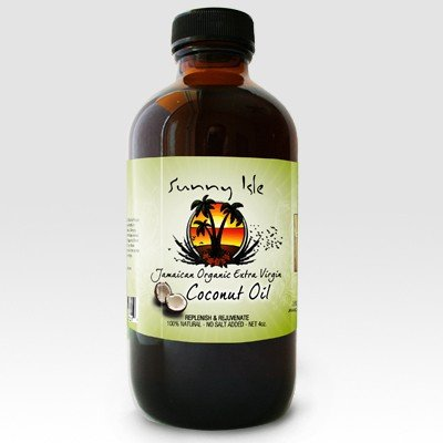 SUNNY ISLE JAMAICAN ORGANIC EXTRA VIRGIN OIL /100% NATURAL OIL /COCONUT OIL - Hair Virgin Coconut Oil