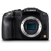 Panasonic Lumix DMC-G6EB-K Compact Digital Camera Body Only - Black (16MP) 3 inch LCD