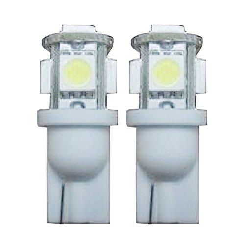 TOOGOO(R) Lot de 2 Ampoules Veilleuse LED SMD T10 W5W SMD