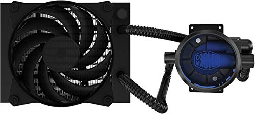 Cooler Master MasterLiquid Pro 120 Sistema di Raffreddamento a Liquido 'Radiatore da 120mm, Radiatore da 120mm, LED Blu' MLY-D12X-A20MB-R1