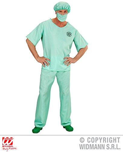 Kostüme Erwachsene Arzt (KOSTÜM - NOTARZT - Größe 54 (XL), Notrettung Arzt OP Chirurg Krankenhaus Uniform Doktor)