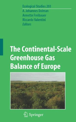 The Continental-Scale Greenhouse Gas Balance of Europe (Ecological Studies, Band 203) (Band Dolman)