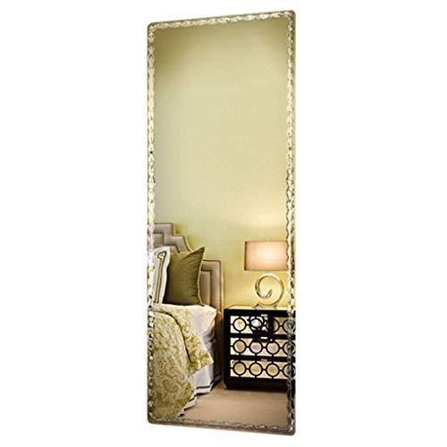 ZHAOJYZ Household Necessities/Vestirse Espejo sin Marco Vestir Espejo Tienda de Ropa de Cuerpo Entero Espejo de la habitación Colgar de la Pared Suspensión Espejo Entrada Espejo Largo