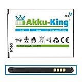 Akku-King Akku für Samsung Galaxy S4 Mini i9192, i9195 - ersetzt EB-B500BE, EB-B500BU - Li-Ion 2100 mAh - mit NFC