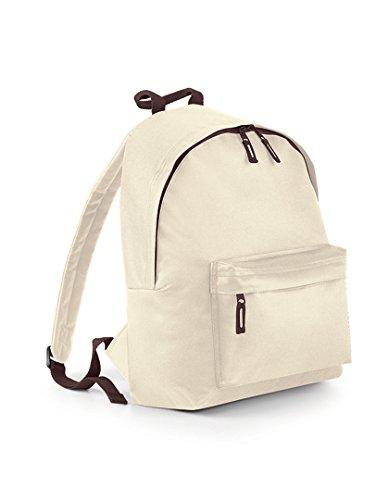 BagBase Fashion Backpack, Sand / Chocolate, 42 x 31 x 21 cm Preisvergleich