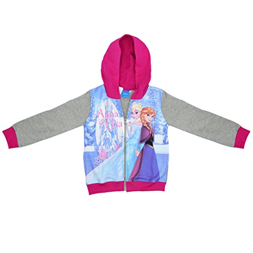 Disney Frozen 'Anna & Elsa' Grey Jumper Clothing