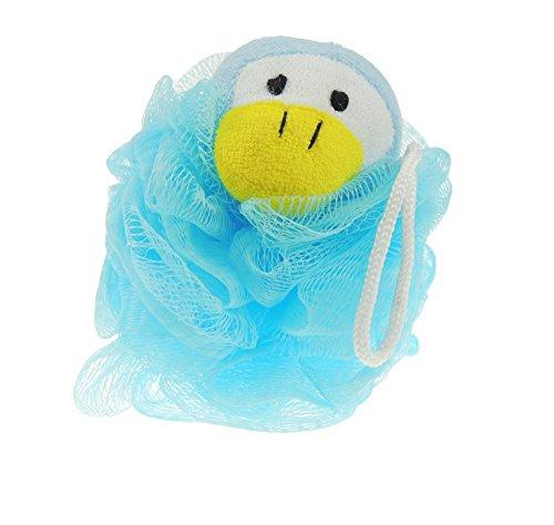 Animal Face Bad Luffa Schwamm Gr. One Size, Blue Penguing ()