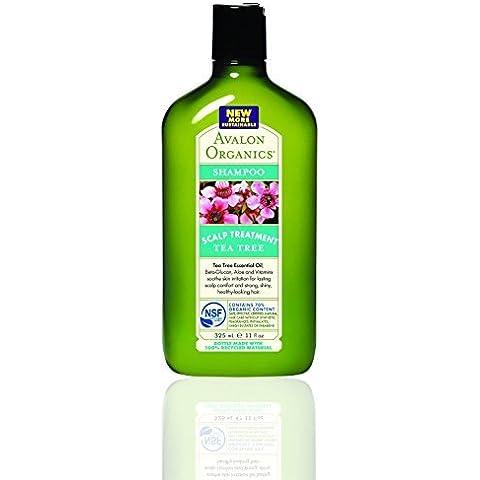 Avalon Tea Tree Scalp Treat Shampoo 325Ml by Avalon