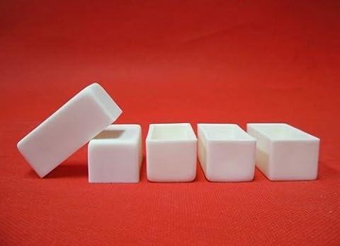 5Stück Tonerde Keramik Crucible Boot Probenhalter Öfen Maße: 52* 25* 23mm