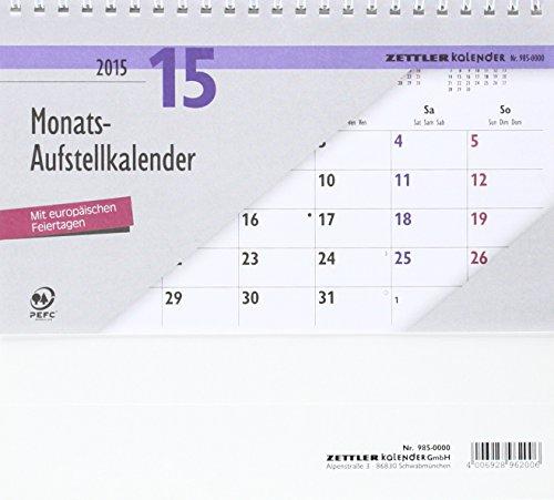 Monats-Aufstellkalender 962 20x15 cm
