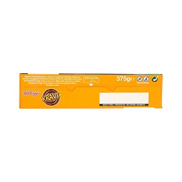 Kellogg's Krave Cereali al Cioccolato, Vitamine B, Ferro - 375 gr 5 spesavip
