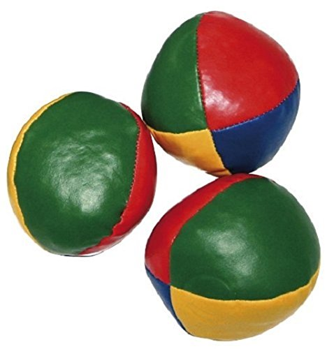 3er Set Jonglierball je ca. 6,5cm im Beutel