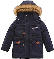 Aeslech - Abrigo de invierno acolchado para niños (5 a 12 años)