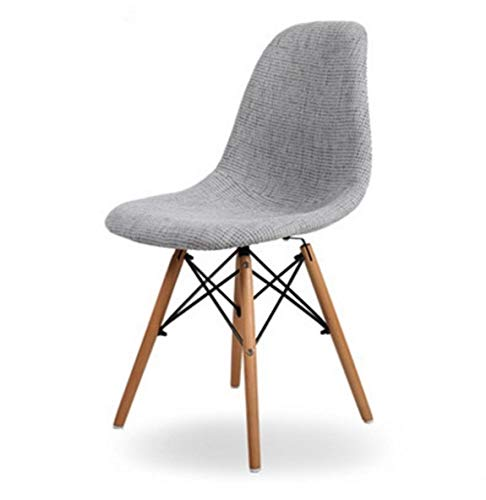 JpOTSUT Stoff Esszimmerstuhl, einfache und Moderne Esszimmerstuhl, personalisierte Mode, kreative Stoff, Stuhl, Sessel, Family Living Room Chair (Color : C)