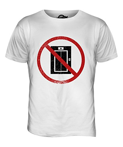 CandyMix Klaustrophobie Herren T Shirt Weiß