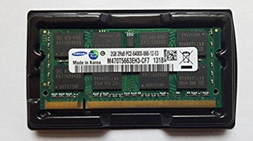 2GB (1x 2GB) DDR2 800MHz (PC2 6400S) SO Dimm Notebook Laptop Arbeitsspeicher RAM Memory Samsung Hynix Micron (Notebook 2 1)