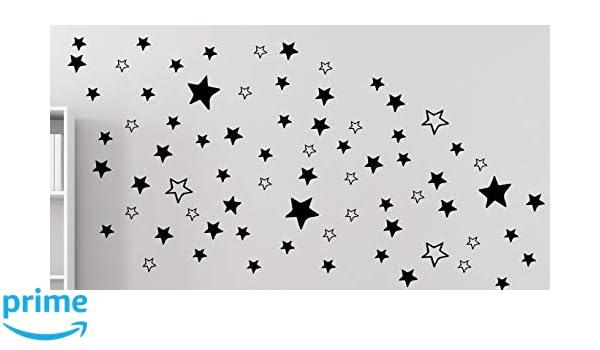 120 étoiles mural étoile autocollant salon chambre chambre enfant b289