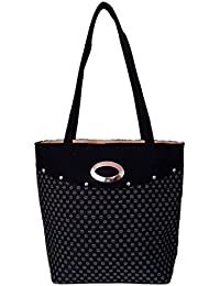 Womaniya Women's Shoulder Bag (Black) (Woman-901)