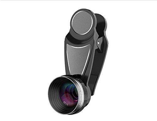 LIJINN Kamera Mobile HD Zweifach-Fach Linse Multilayer Plating Membrane Professional Makro Optische Glaslinsen 26,5 * 16Mm Smartphones Universal,Silver (Wolf-kamera Angeln)