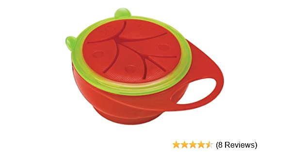 Pink//Green Brother Max Easy Hold Snack Pot Bowl