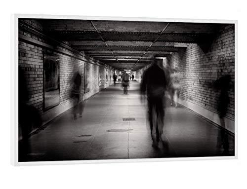 """artboxONE Poster mit weißem Rahmen 30x20 cm Faceless #1"""" von Künstler Pixum Edition - Poster mit Kunststoffrahmen"""