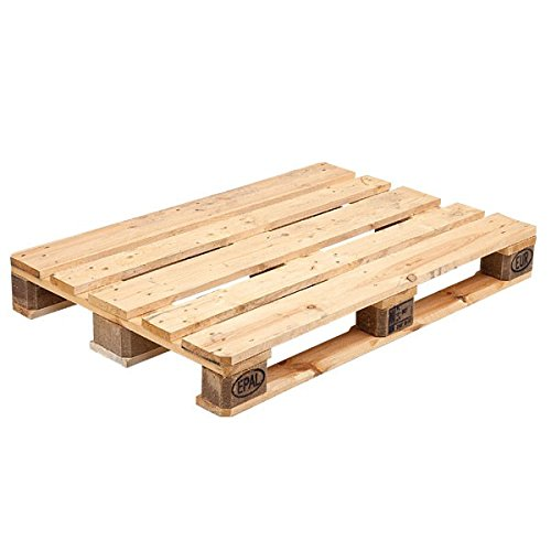 propac pallet in legno, epal certificato, bancale, nuovo, 120 x 80 x 14.4 cm