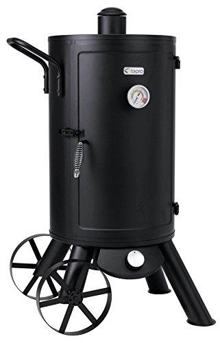 "Tepro Gas-Räucherofen \""Palmdale\"", schwarz, 56 x 70 x 111 cm, 3180"