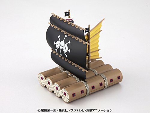 BANDAI- Marshall D. TEACH'S Model Kit Figura 15 CM One Piece Grand Ship Collection 83184P, Multicolor (BDHOP006374) 2