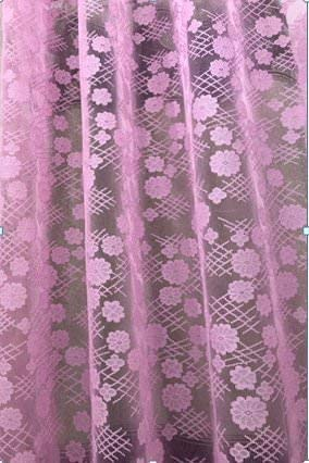 check MRP of pink net curtains RIDHAAN