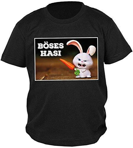 Buben/Jungen-Shirt/Sprüche-Shirt/Spaß-Shirt/Oster-Shirt: Böses Hasi - geniale Geschenkidee (Oster-bekleidung Für Jungen)
