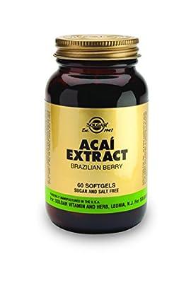 Solgar Acai Extract Softgels - Pack of 60 by Solgar