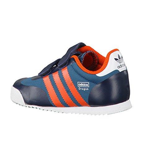 adidas Originals, Sneaker bambine petink/corang/surpet Blu (petrol ink s15-st/collegiate orange)