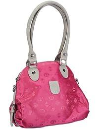 Poodlebags Club - Attrazione - Torino - 3CL0313TORIP, Borsa a spalla donna 33x27x27 cm (L x A x P), Rosa (Pink (pink)), 33x27x27 cm (L x A x P)