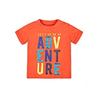 Mothercare Boy's Adventure T-Shirt, Red, 0-6 Months (Manufacturer Size: 68)
