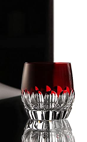 Waterford-Mixology Talon rot Glas, Paar