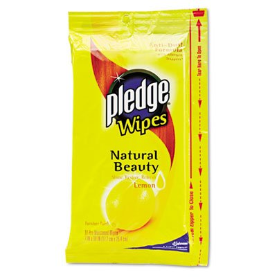 pledge-furniture-lemon-scent-wet-wipes-cloth-7-x-10-white-18-pack-by-pledge