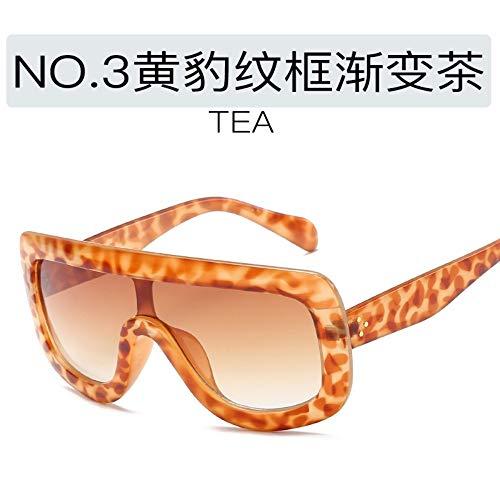 ROirEMJ Sonnenbrille, Frauen Uv-Schutz 400 Brillen, Mode Persönlichkeit Siam Frame Sonnenbrillen, Weiblich Jahrgang Gradient Farbe Fahren Auge Glas, Stil 1